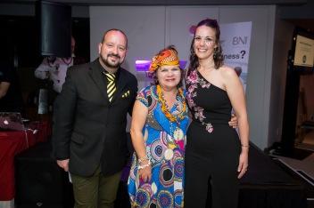 Karen Howard Tripp won the award for best dressed.