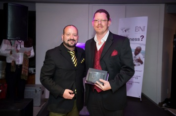 Wayne Devy won the Member of the Year 2017 Award for BNI Winelands Region