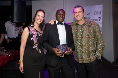 BNI Mother City won the award for the most Closed Business in the South Peninsula Region.