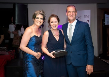 BNI Northern Lights won the award for the Most Improved Attendance in the North Peninsula Region.