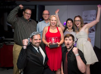 BNI Ratanga won the award for the Best Growth in the North Peninsula Region.