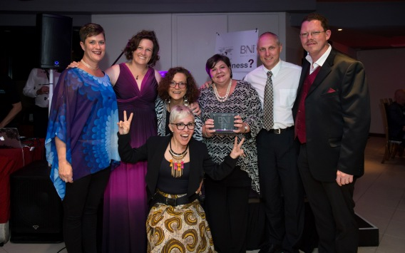 BNI Lord Somerset won the award for the Most qualified referrals in the Winelands Region.