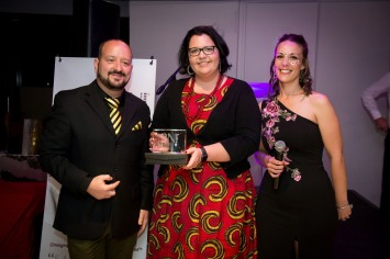 Katherine Du Plooy won the Most Referrals Passed Award for BNI South Peninsula