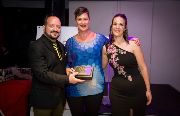 Tanja Beutler won the Most Referrals Passed Award for BNI Winelands