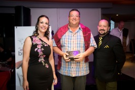 Peter Ruthenberg won the Most Visitors Award for BNI South Peninsula
