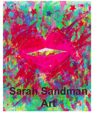 Sarah Sandman Painting - Emotion
