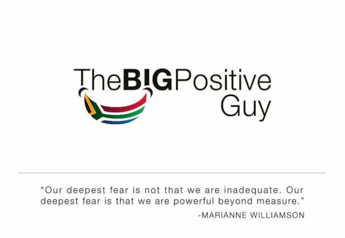 The Big Positive Guy Logo